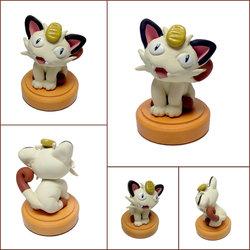 Meowth Mini Sculpture