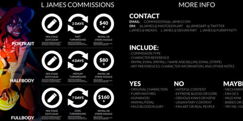 Commission info [all types OPEN]