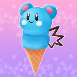 Azurill Ice Cream
