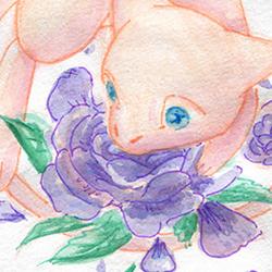 Mew+fleur