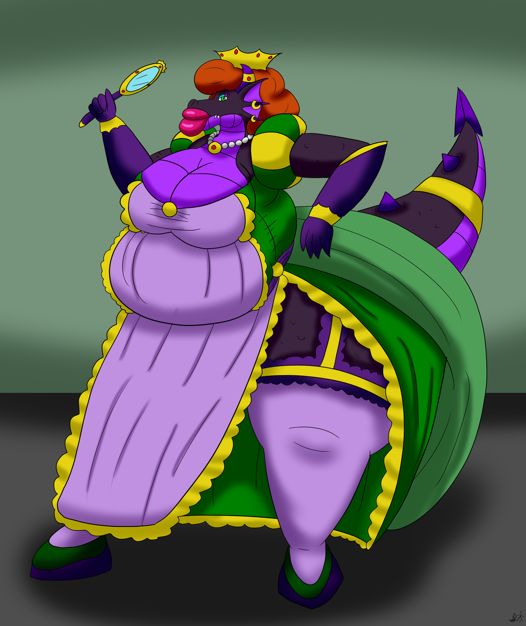 The new empress's body