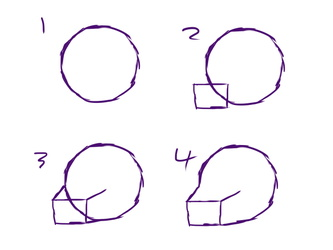 Simple muzzle starting guide
