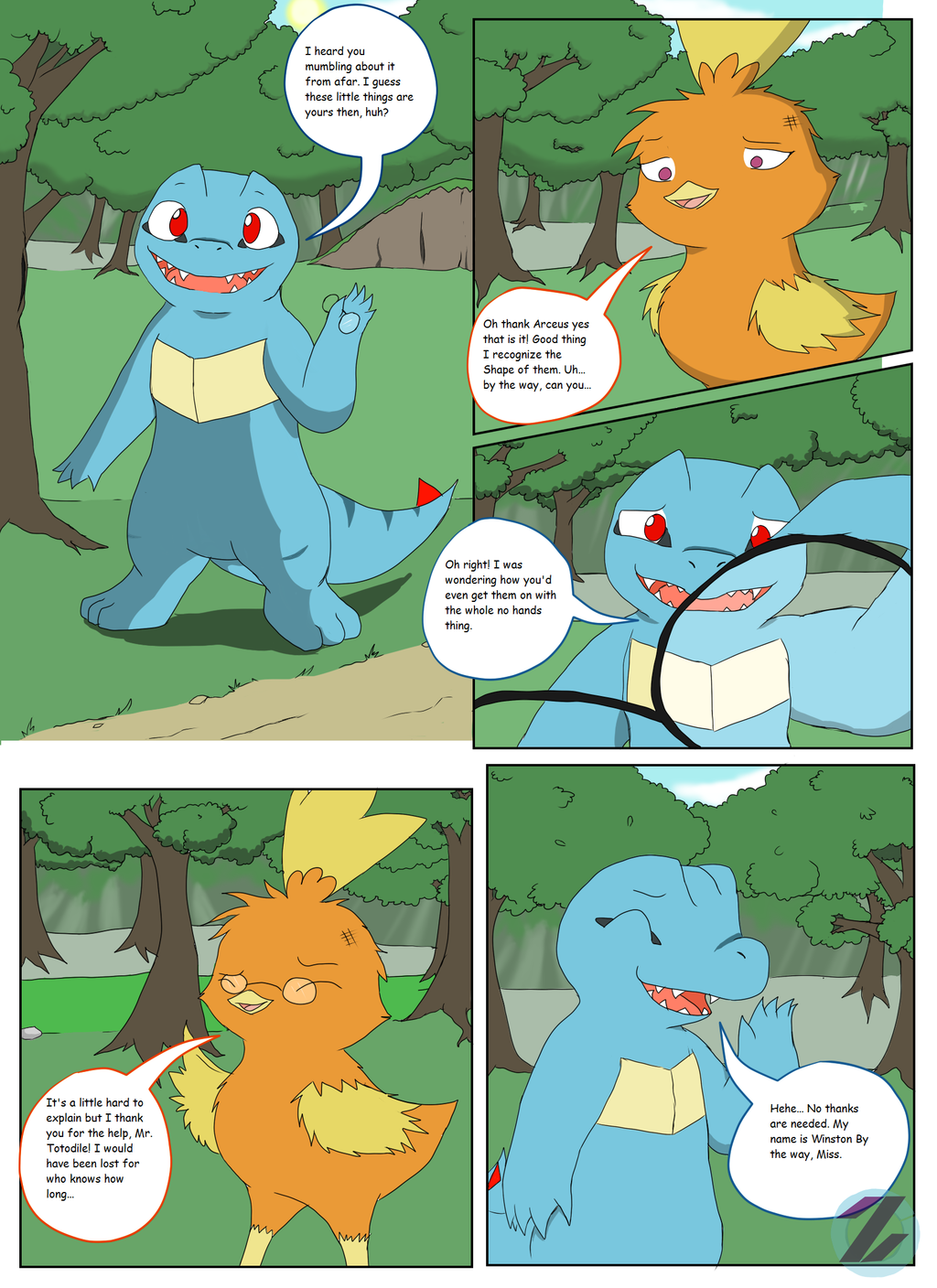 The Adventures of Team Rosewood: Ch. 1 - Pg. 4