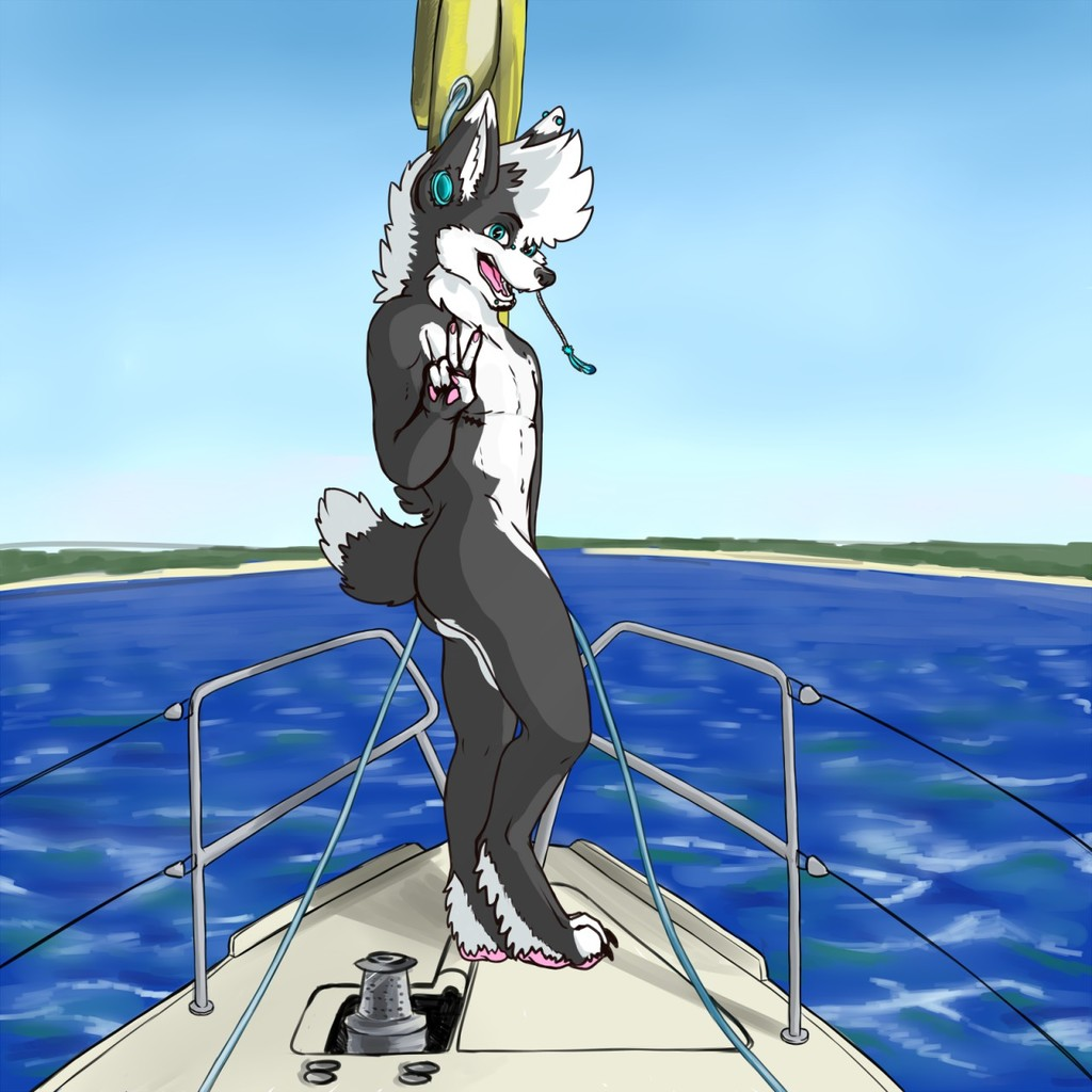 Commission: Having a blast in the sea