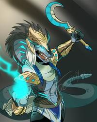 Snake Sorcerer (COMMISSION)
