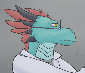 A Medic Preparing