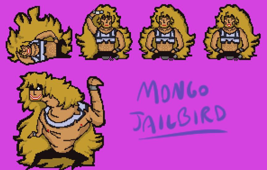 Mongo Jailbird Spritesheet