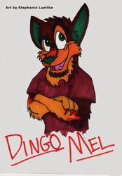 Dingo Mel Traditional Badge