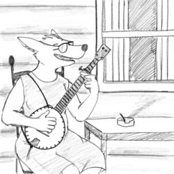 Banjo Pickin Girl
