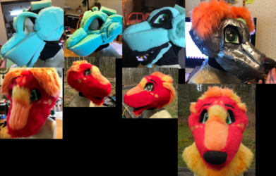Firecracker Progress Collage
