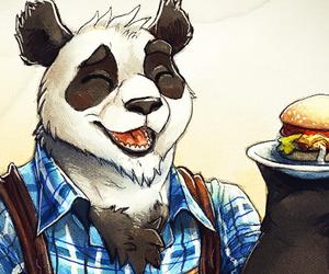 Burger Chef Panda