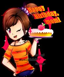 【Gift】- Happy birthday, mom!