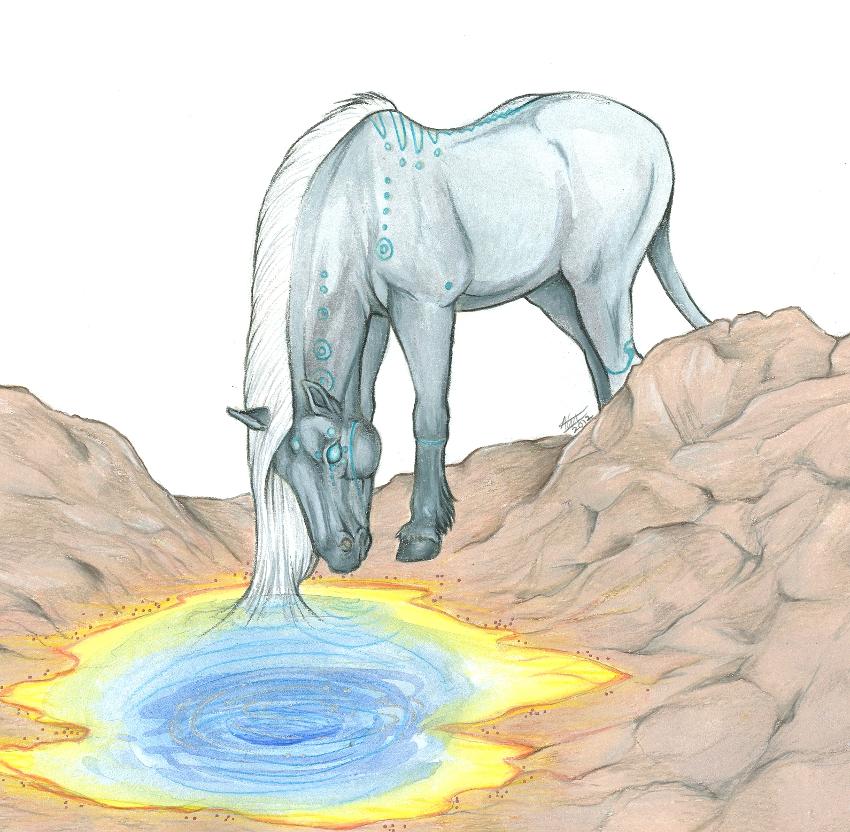Samael and the Reflecting Pool