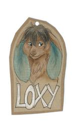 Loxy Badge ~ Fawnspots