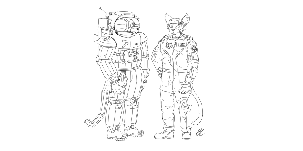 Space Suit+Operator