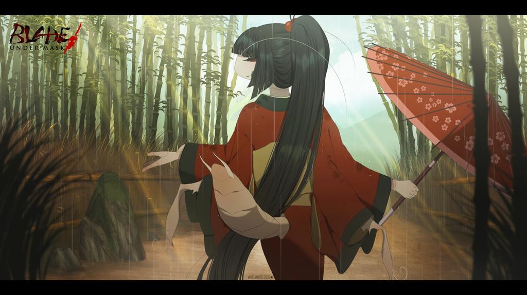 Blade Under Mask: Warm Sun, Pleasant Rain