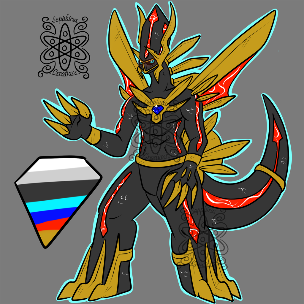 Corrupted Male Dialga +Design+ (SOLD)