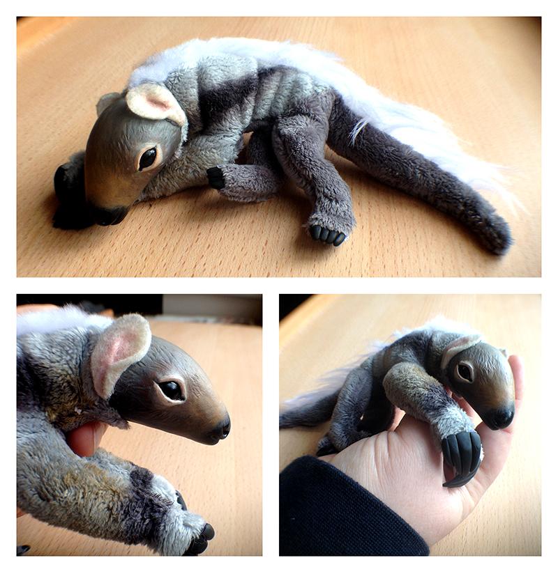 OOAK Baby Anteater Doll