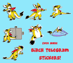 More Birch stickers!