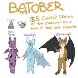 $5 Bat Sketches