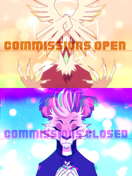 adontis and octis: commission banners