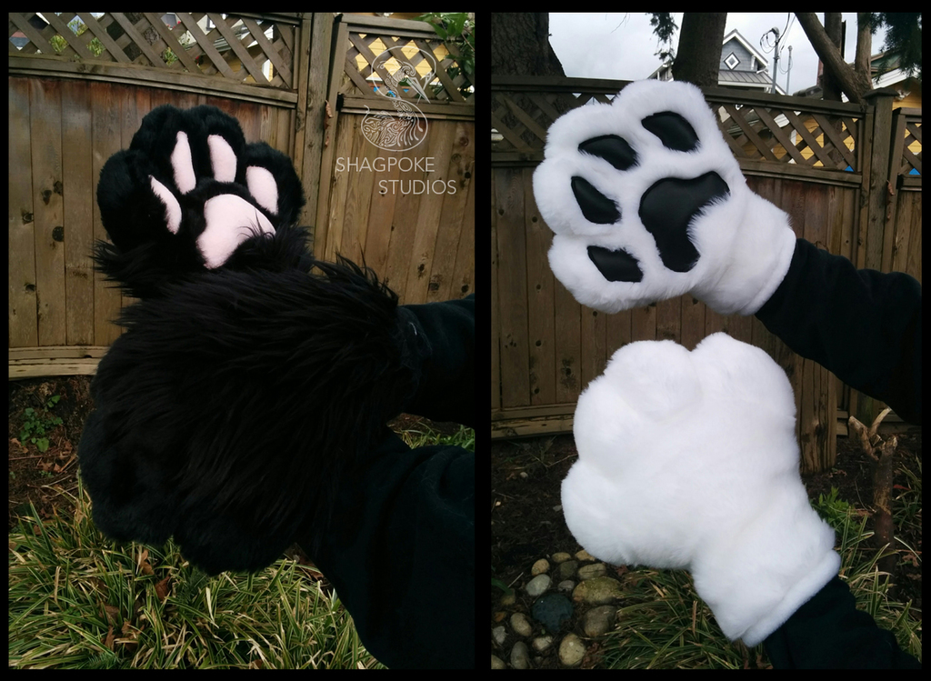Most recent image: Puffy Canine Hands FOR SALE!