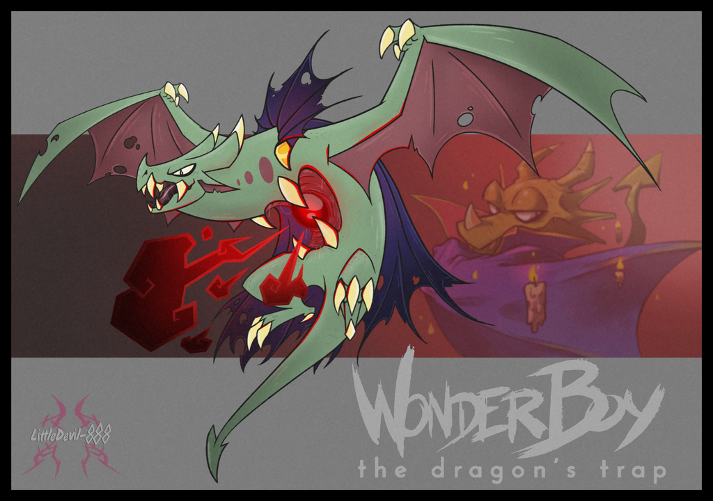 Wonder Boy Vampire Dragon