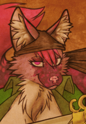 Midwest Furfest Pirate badge 3