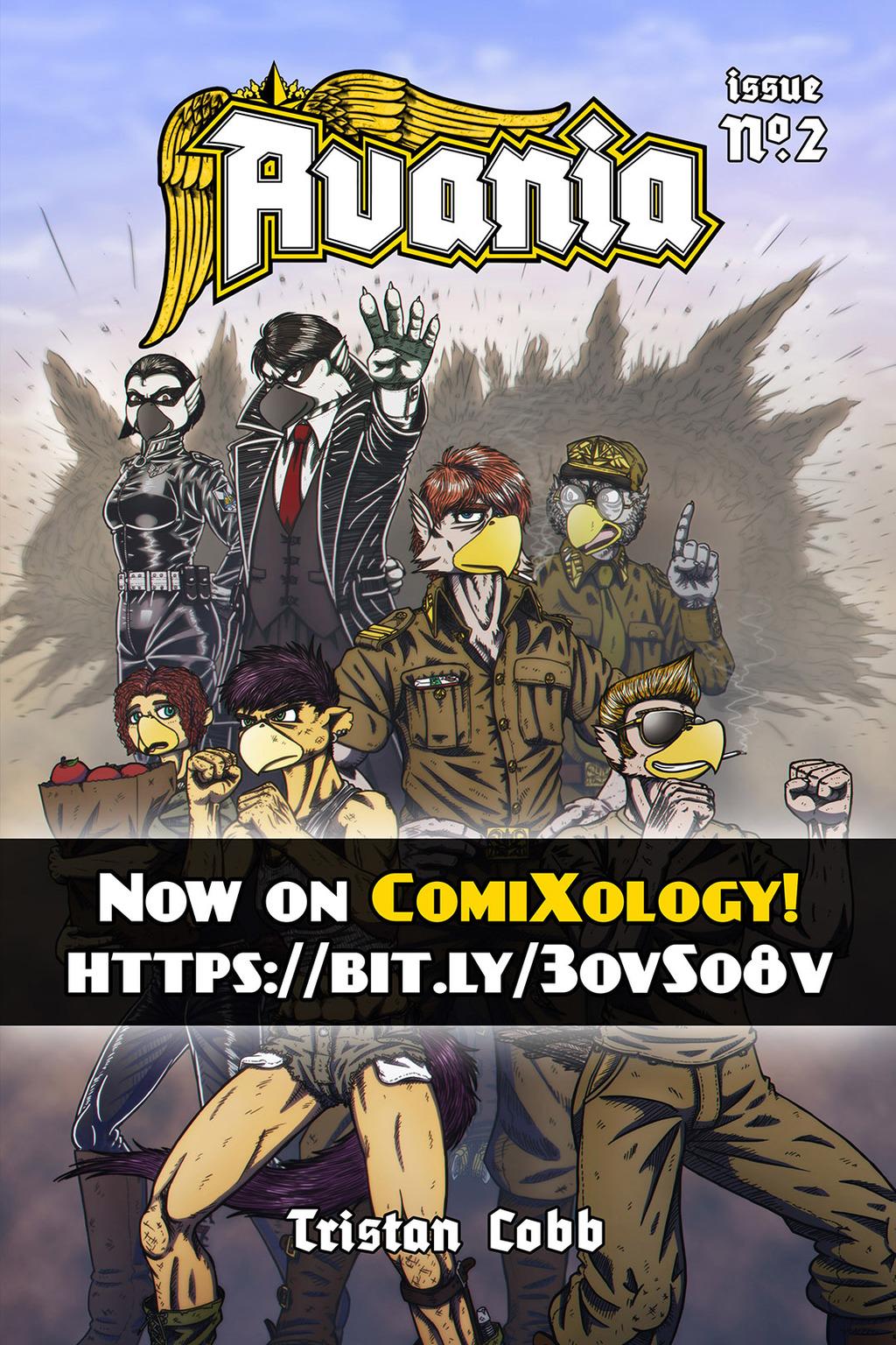 Avania No.2 Now On ComiXology!