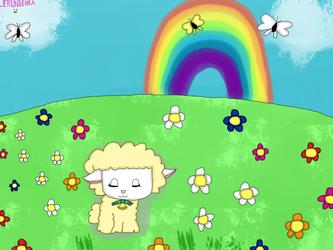 Daydreaming in the flower fields (redraw)
