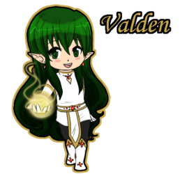[Old Art] Chibi Valden Badge