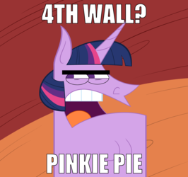 TS - 4th Wall? Pinkie Pie...
