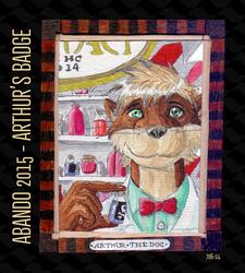 Arthur's badge for Abando 2015