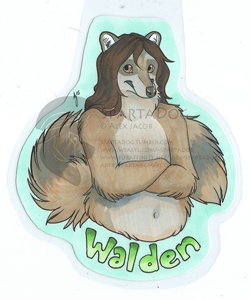 Commission - Walden Badge (ANE)