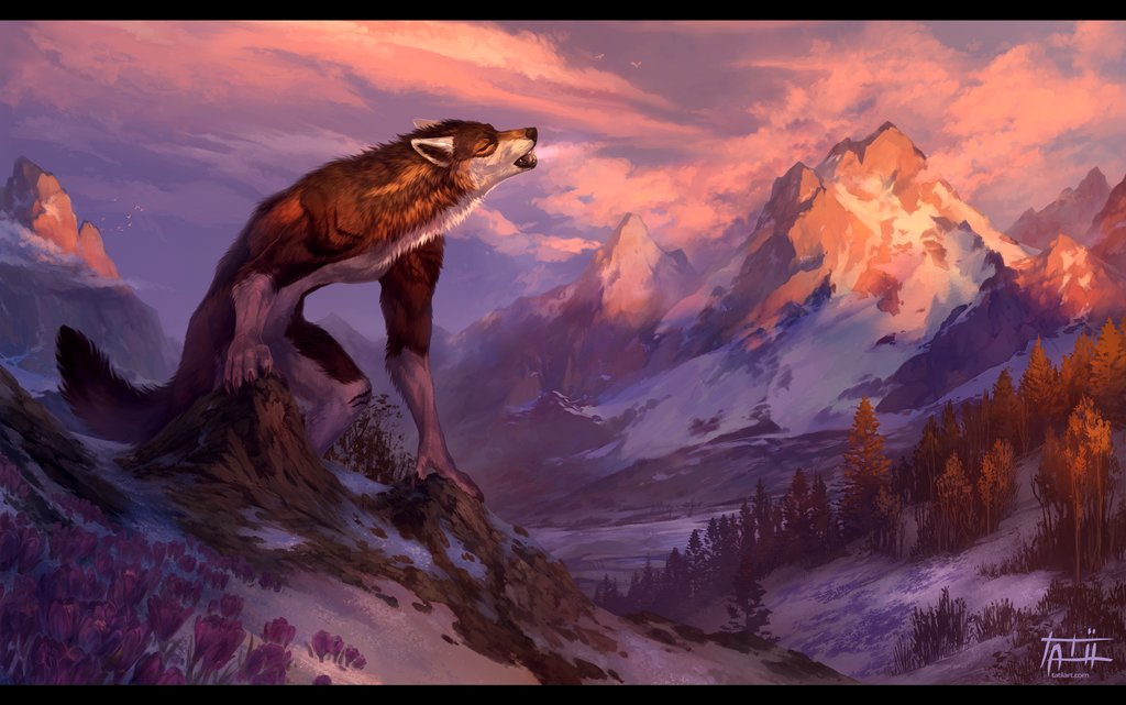A Farewell to Winter by Tatii Lange