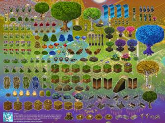 Club Nimbus - Nature and Outdoor Sprites