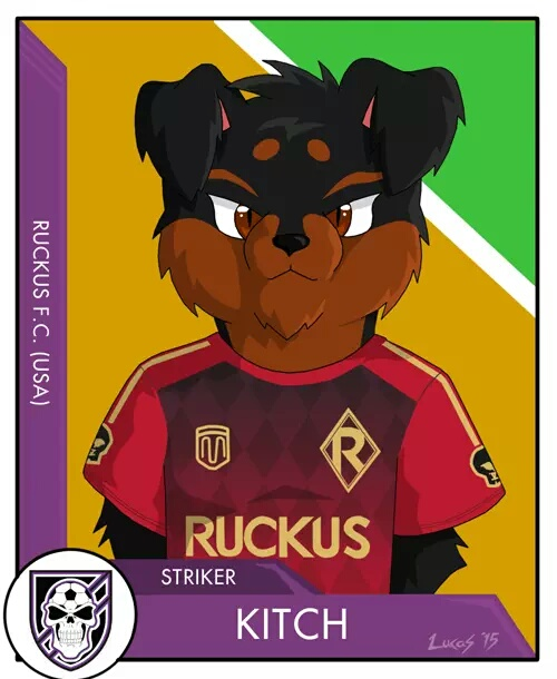 Most recent image: Furry XI Ruckus by Lucas Holt