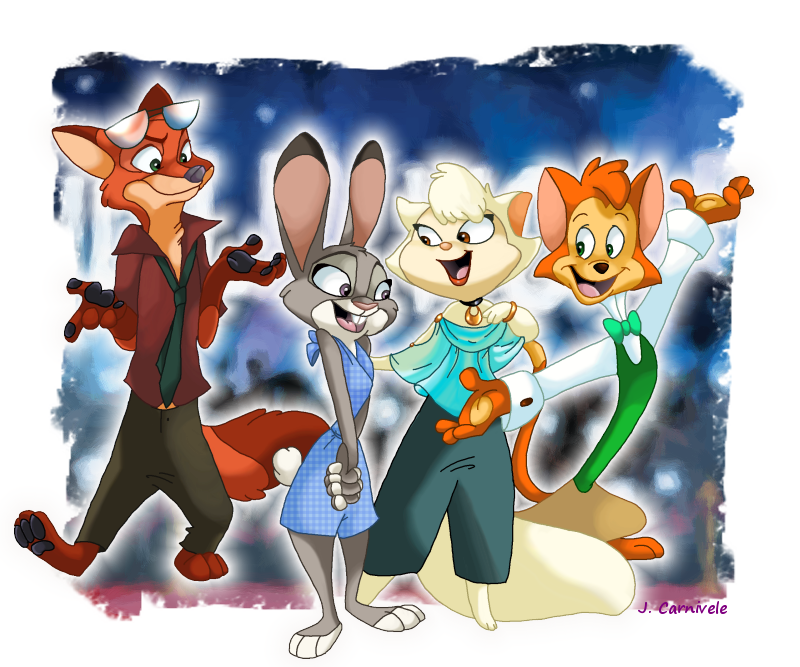 Cats Don't Dance and Zootopia Crossover