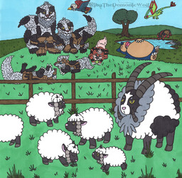 The Wooloo Flock