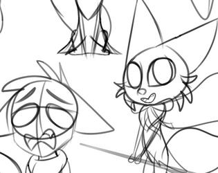 Hazel's Sketch Dump