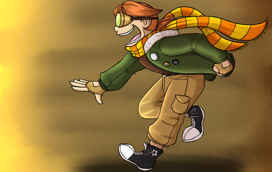Art Trade: Alex is ready for an ADVENTURE