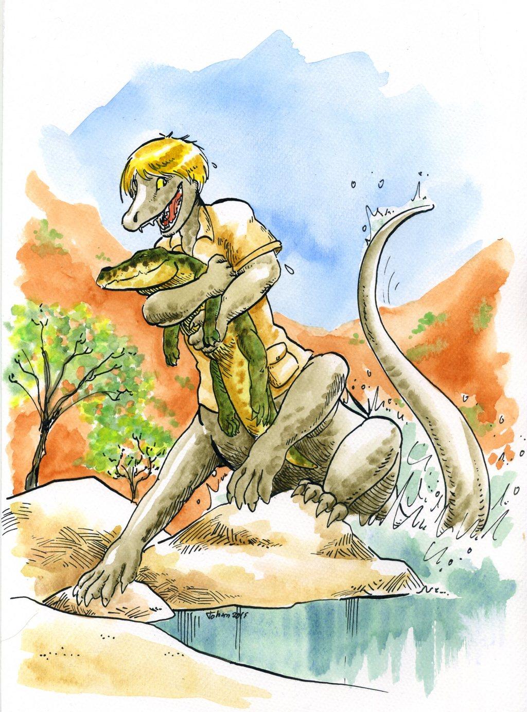 Crikey I found a gator