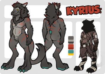 Kyrius Reference Sheet - [Commission]