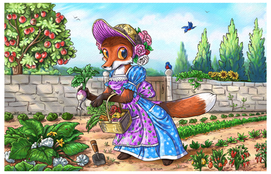 Ms. Fox's Garden