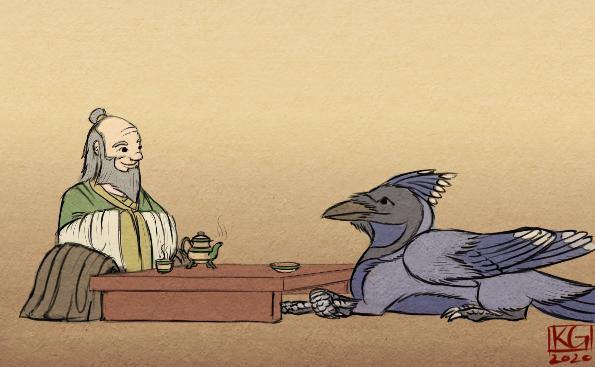 Tea Time (ATLAB Fan-Art)