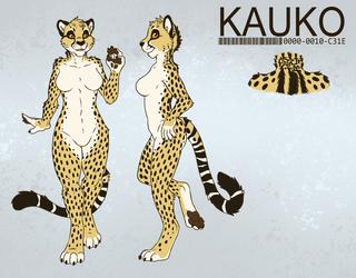Kauko Cheetah [Character Ref - SFW]