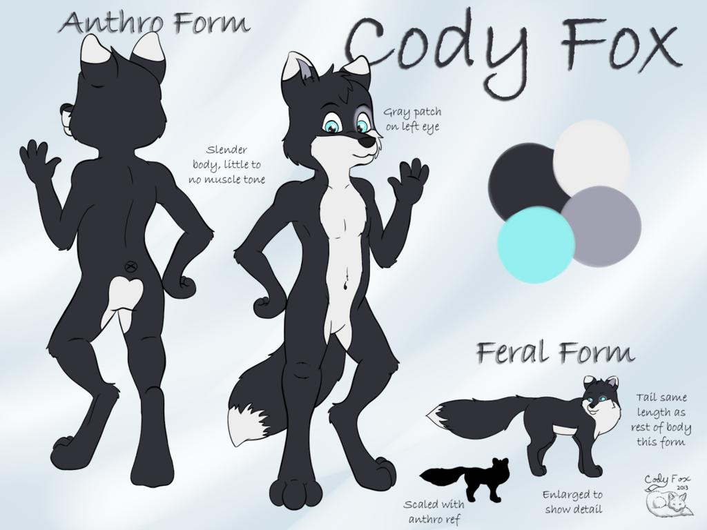 Most recent image: Cody Fox Ref Sheet 2013