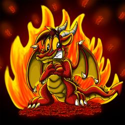 Steve the dragon