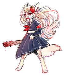 nuregator - chibi sketch