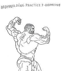 Bodybuilding - Anatomy Practice 7